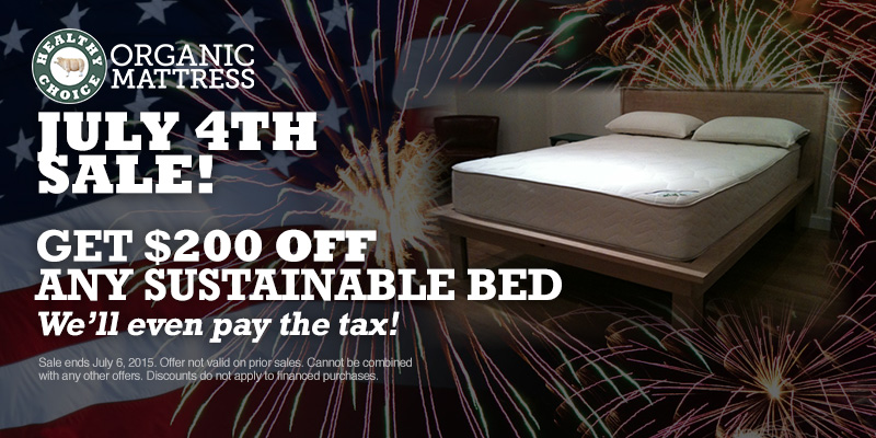 Healthy Choice Sustainable Bed Sale