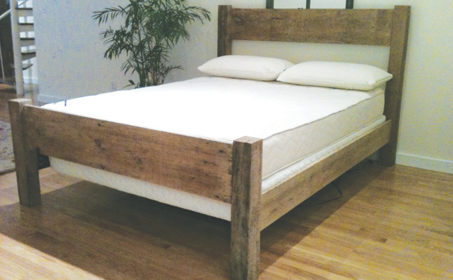 The Brookfield Sustainable Wood Bed Frame